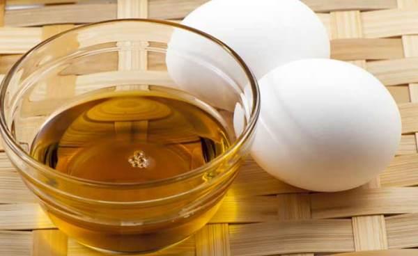 jaja i maslinovo ulje maska