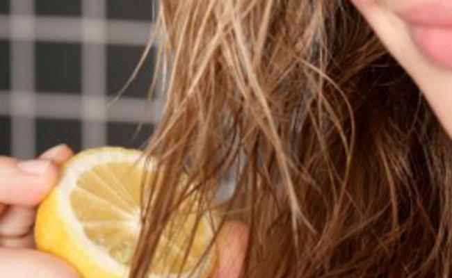 posvetljivanje kose limunom