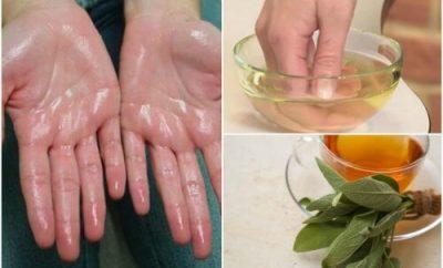 kako spriječiti znojenje dlanova