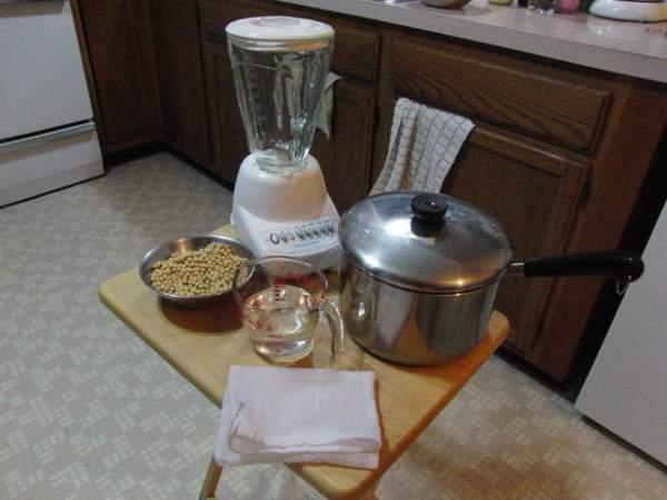 kako napraviti sojino mleko