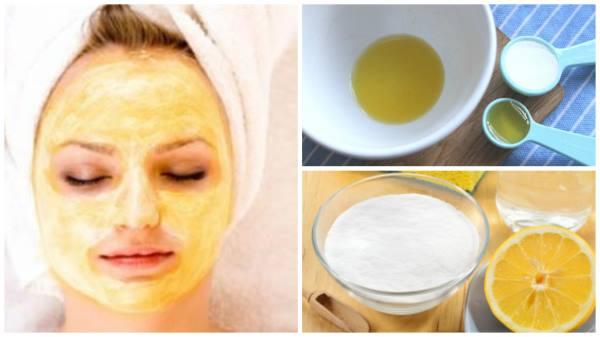 soda bikarbona maska za lice