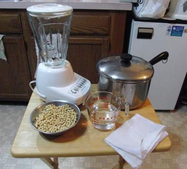 sojino mleko recept