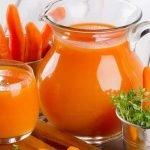 sok od sargarepe