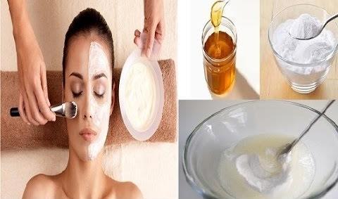 med i soda bikarbona za lice
