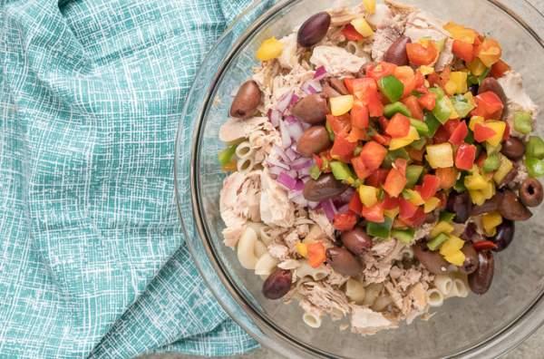 salata sa makaronama i tunjevinom recept