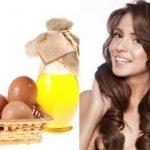 maska od jaja i malinovog ulja