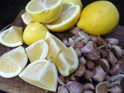 limun i beli luk recept