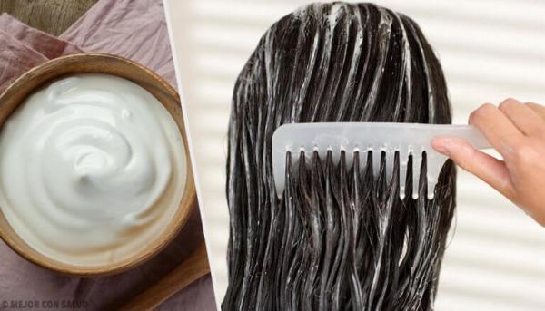 majonez za kosu